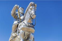 La più grande statua del mondo di Chinghis Khan Immagine Stock