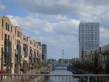 La più nuova città olandese Immagini Stock Libere da Diritti