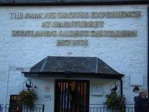 La più vecchia distilleria di urogallo famoso fotografia stock libera da diritti