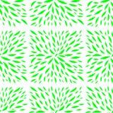 La pianta lascia il modello sotto forma di mattonelle illustrazione vettoriale