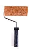 La piastra, lo strumento del pittore di casa Fotografie Stock Libere da Diritti
