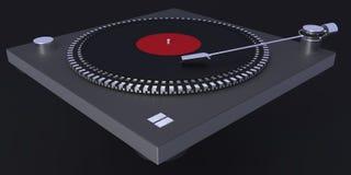 La piattaforma girevole, 3d illustrazione, 3d rende Fotografie Stock