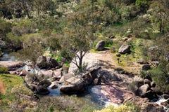 La piattaforma inferiore di osservazione al parco nazionale cade in John Forrest N Fotografia Stock Libera da Diritti