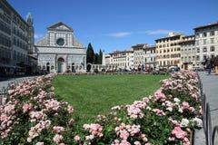 La piazza a Firenze Immagini Stock