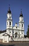 La piccola basilica di St Michael in Marijampole lithuania fotografia stock libera da diritti