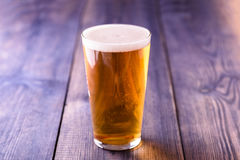La piccola birra non ha danneggiato mai Immagine Stock