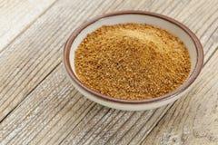 Zucchero del cocco Fotografie Stock