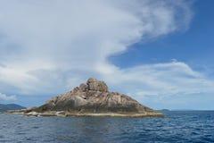 La piccola isola del mare delle Andamane Fotografie Stock Libere da Diritti