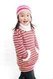 La piccola ragazza cinese Fotografie Stock Libere da Diritti