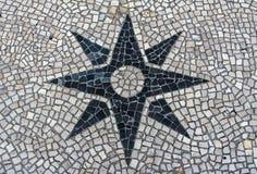 La piedra bloquea la textura del pavimento para el fondo Imágenes de archivo libres de regalías