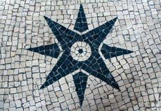 La piedra bloquea la textura del pavimento para el fondo Imagen de archivo libre de regalías