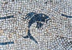 La piedra bloquea la textura del pavimento para el fondo Fotos de archivo libres de regalías