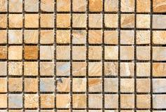La piedra colorida teja el modelo foto de archivo