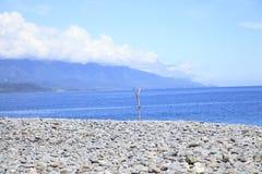 La piedra de la costa Fotografía de archivo