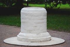 La piedra de la petición en Kolomenskoye imágenes de archivo libres de regalías
