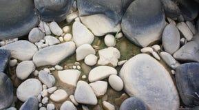 La piedra del río Imagen de archivo