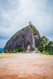 La Piedra, formación de roca de Penol en Guatape Foto de archivo