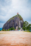 La Piedra, Penol vaggar bildande i Guatape Arkivfoto