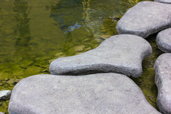 La piedra soló las aceras el concepto para el diseño Fotos de archivo