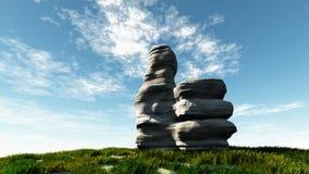 La piedra tiene gusto Foto de archivo