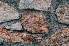 La pierre donne à l'irregular une consistance rugueuse photographie stock libre de droits