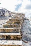 La pierre intensifie des rochers dans Aruba Photo libre de droits