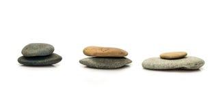 La pierre sont grande et peu Image stock