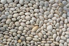 La pietra del ciottolo pavimenta 002 Immagini Stock
