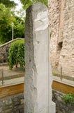 La pietra di Milion, Costantinopoli Immagini Stock