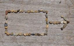 La pietra nel quadrato della tavola e Fotografie Stock
