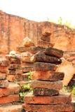 La pietra stratificata Immagine Stock