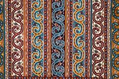 La pieza de alfombra de turco-Azerbaijan imagen de archivo