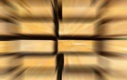 La pila brillante de la perspectiva de los rayos de la velocidad de acercamiento del efecto de la perspectiva del movimiento de t imagen de archivo