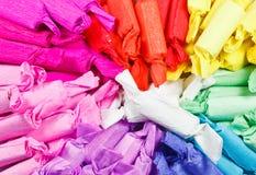 La pila de caramelos coloridos Fotos de archivo libres de regalías
