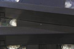 La pila de cintas de video negras de la cinta de VHS se cierra para arriba Fotos de archivo