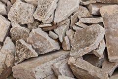 La pila de concreto quebrado Imagenes de archivo