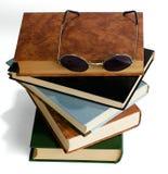 La pila de libros Fotos de archivo libres de regalías