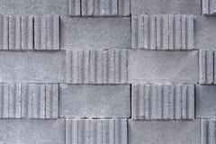 La pila del blocchetto del cemento Fotografia Stock Libera da Diritti
