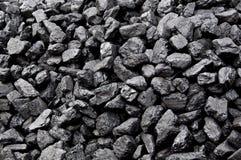 La pila del carbone Immagini Stock