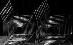 La pila di sedie Fotografia Stock Libera da Diritti