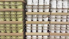 La pila di tazza fotografia stock