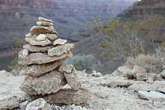 La pile de roche Photos libres de droits