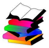 La pile des livres Photo stock