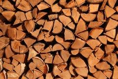 La pile du bois de chauffage Images stock