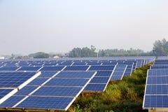 La pile solaire Photos stock