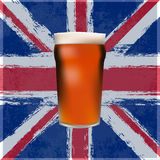 La pinte britannique grande Image stock
