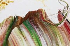La pintura abstracta colorea el fondo Fotografía de archivo libre de regalías