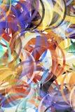 La pintura abstracta labró el fondo stock de ilustración