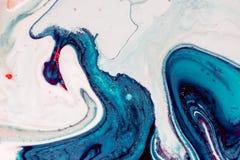 La pintura abstracta, se puede utilizar como fondo de moda para los papeles pintados, carteles, tarjetas, invitaciones, sitios we imagen de archivo