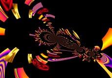 La pintura colorida del extracto del arte del diseño de Grafik representa nuevo arte foto de archivo libre de regalías